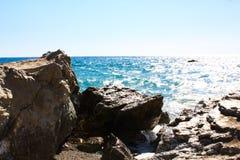 Facendo un'escursione in Creta Fotografia Stock Libera da Diritti