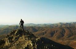 Facendo un'escursione in Crimea Fotografia Stock