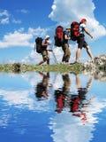 Facendo un'escursione in Crimea immagine stock
