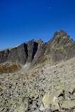 Facendo un'escursione in montagne di Tatra Immagini Stock