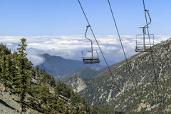 Facendo un'escursione nel Mt Traccia di Baldy Fotografia Stock