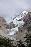 Facendo un'escursione nella Patagonia, l'Argentina Fotografie Stock