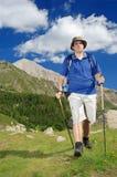 Facendo un'escursione nella sosta nazionale Pirin Immagine Stock Libera da Diritti