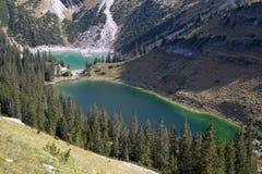 Facendo un'escursione nelle alpi bavaresi, la Germania Fotografia Stock Libera da Diritti