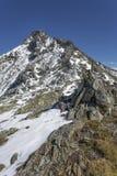 Facendo un'escursione nelle alpi italiane, Europa, nell'autunno Fotografia Stock