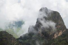 Facendo un'escursione nelle montagne di Simien, l'Etiopia Immagine Stock Libera da Diritti