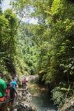 Facendo un'escursione a Suva fotografie stock libere da diritti