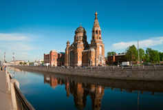 Facendo un giro turistico della città di St Petersburg Immagine Stock