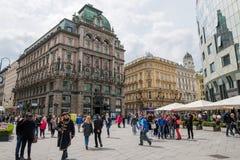 Facendo un giro turistico a Vienna immagini stock libere da diritti