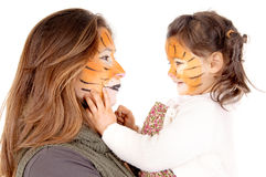 Facepaint Stock Images