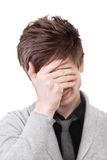 Facepalm Royalty Free Stock Photo