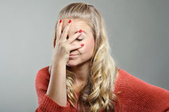 Facepalm Royalty Free Stock Image