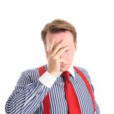 Facepalm royalty free stock images