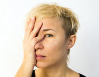 Facepalm Royalty Free Stock Photos