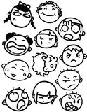 Faces Royalty Free Stock Photos