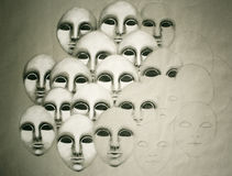 Faces Royalty Free Stock Image