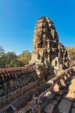 Faces of ancient Bayon Temple At Angkor Wat Royalty Free Stock Image