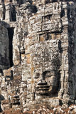 Faces of ancient Bayon Temple At Angkor Wat. Siem Reap, Cambodia Royalty Free Stock Photos