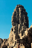 Faces of ancient Bayon Temple At Angkor Wat. Siem Reap, Cambodia Stock Images