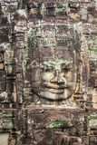 Faces of ancient Bayon Temple At Angkor Wat, Siem Reap, Cambodia Royalty Free Stock Photography