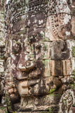Faces of ancient Bayon Temple At Angkor Wat, Siem Reap, Cambodia Royalty Free Stock Photo