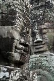 Faces of Angkor Royalty Free Stock Photography