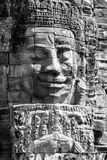 Faces of Bayon temple Royalty Free Stock Image