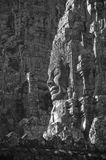 Faces of Bayon temple, Angkor, Cambodia Royalty Free Stock Image