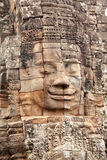 Faces in Bayon Temple, Angkor Wat, Cambodia Royalty Free Stock Photos