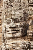 Faces in Bayon Temple, Angkor Wat, Cambodia Royalty Free Stock Photo
