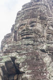 The faces at the Bayon Temple, Siem Riep, Cambodia. Face Stock Image