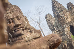 The faces at the Bayon Temple, Siem Riep, Cambodia. Face. The amazing faces at the Bayon Temple, Siem Riep, Cambodia. Faces at Bayon Royalty Free Stock Images