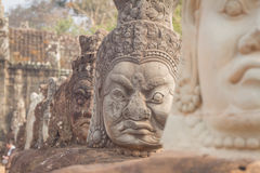 The faces at the Bayon Temple, Siem Riep, Cambodia. Face. The amazing faces at the Bayon Temple, Siem Riep, Cambodia. Faces at Bayon Royalty Free Stock Image