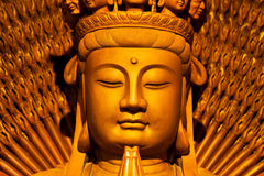 Faces of Buddha. Royalty Free Stock Images