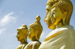 Faces of buddha Royalty Free Stock Images