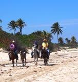 Faces Of Cuba  At Playa Del Este Royalty Free Stock Photos