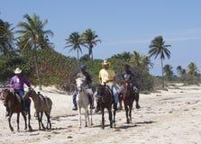 Faces Of Cuba  At Playa Del Este Royalty Free Stock Photo