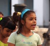 Faces Of Cuba School Children On Paseo Del Prado Royalty Free Stock Photography