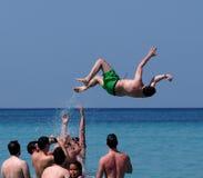 Faces Of Cuba Young People At Playa Del Este stock photos