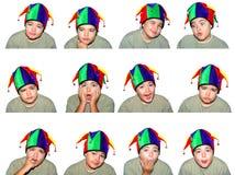 Faces da criança imagem de stock