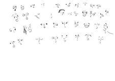 Faces das crianças Imagens de Stock Royalty Free