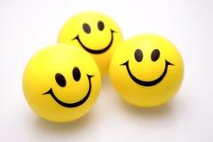 Faces do smiley Fotografia de Stock Royalty Free