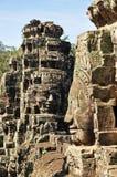 Faces do templo de Bayon Fotografia de Stock Royalty Free