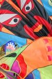 Faces em papagaios, Imagens de Stock