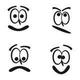 Faces engraçadas Fotos de Stock