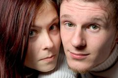 Faces engraçadas foto de stock royalty free