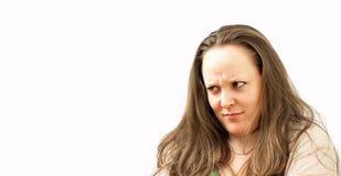 Faces engraçadas Fotografia de Stock