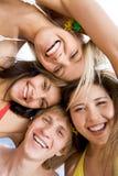 Faces felizes Fotos de Stock
