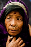 Faces from Gangtok Stock Photography