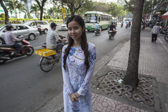 Faces of Ho Chi Minh city Royalty Free Stock Photography